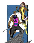 X-Men: Rogue and Gambit by Gianfranco Autilia