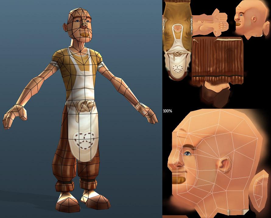 Character Design Analysis : Nathanwilkie king ani character design analysis low poly