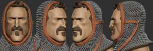 Knight Head Sculpt