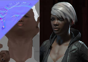 Comicon '10 Storm - tex step 1 by polyphobia3d