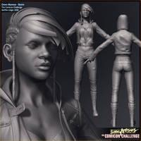 Comicon '10 Storm - sculpt by polyphobia3d