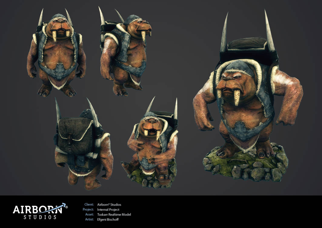 Airborn Portfolio Character by polyphobia3d on DeviantArt