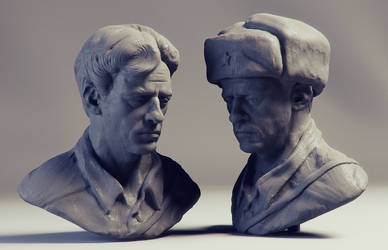 life sculpting 05 by polyphobia3d