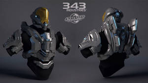 Halo Suit - Rogue - Highpoly