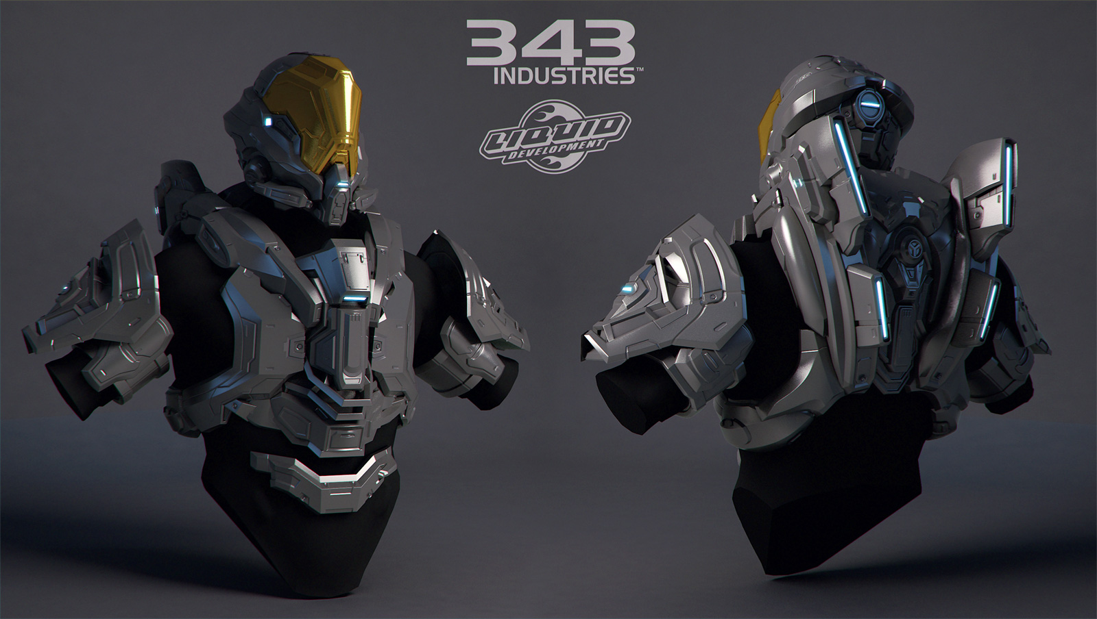 Halo Suit - Rogue - Highpoly by polyphobia3d
