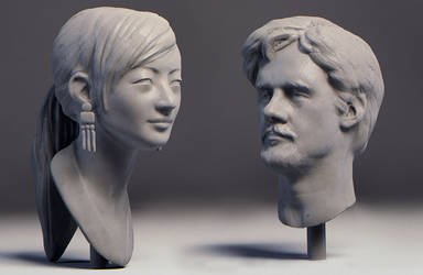 Thu2014 livesculpt by polyphobia3d
