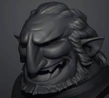 Ganondorf sketch by polyphobia3d