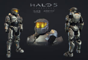 Halo 5 Multiplayer Armor MARK IV [GEN1] by polyphobia3d