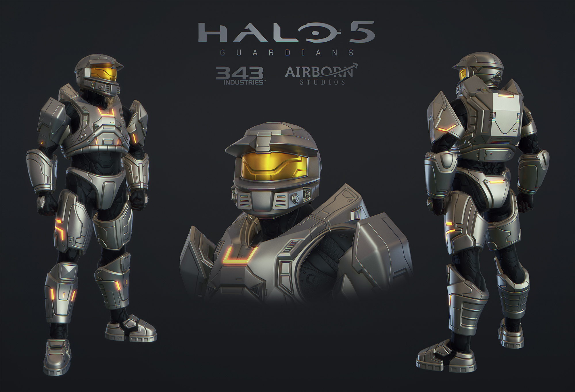 Halo 5 Multiplayer Armor Mark V Alpha 587220058 on This Was A Collaborative Project I Did With One