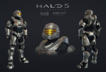 Halo 5 Multiplayer Armor Decimator by polyphobia3d