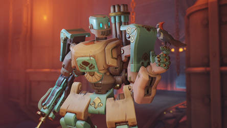 Overwatch Antique Bastion by polyphobia3d