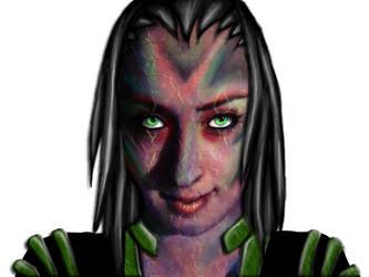 Alien001 by MysticBlack5