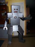 Mr Robo Costume by DESIGNOOB