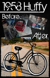 1958 Huffy Restoration by DESIGNOOB