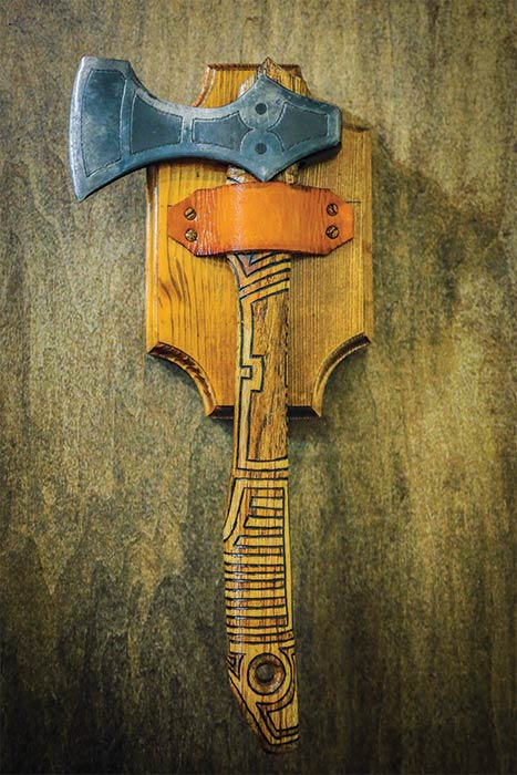 Custom Hatchet by DESIGNOOB