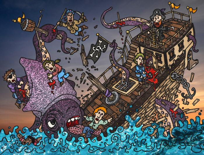 Kraken by DESIGNOOB