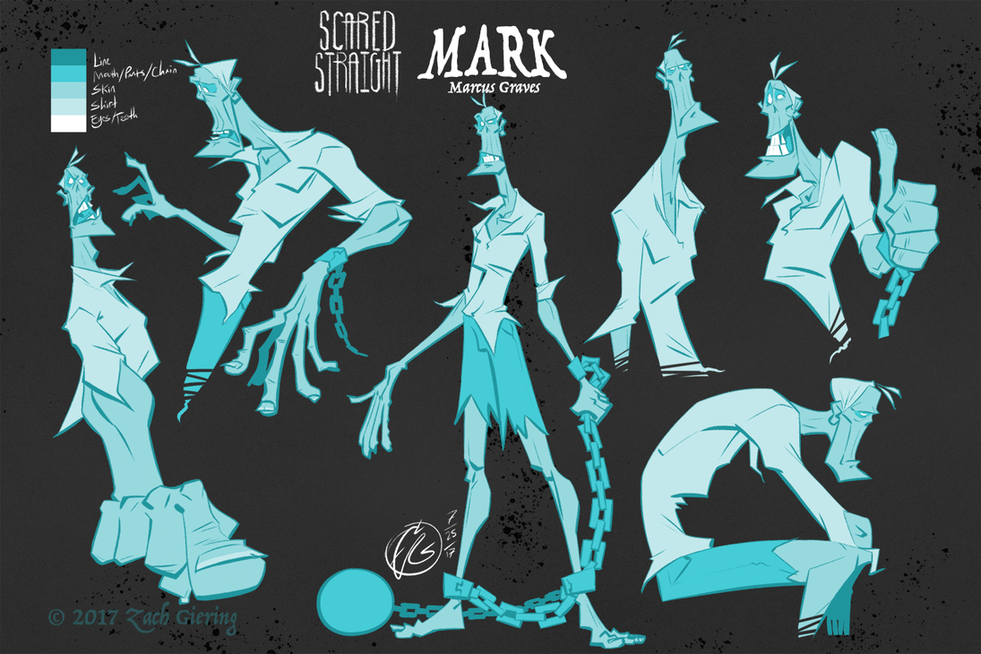 Marcus Model Sheet by phantomthepencil