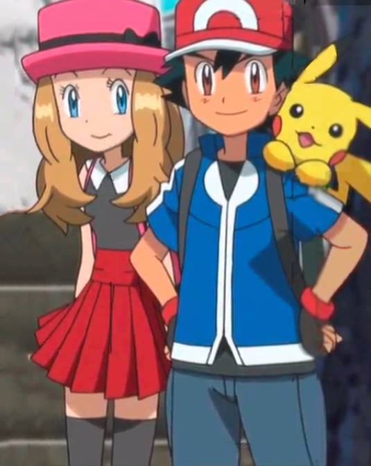 Amourshipping ash and serena more close to you by darkramiess
