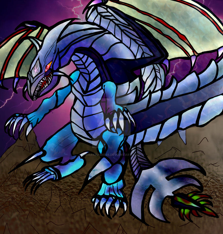 Chaotic Dragon of thunder Critias and Eternal Dark by Darkramiess