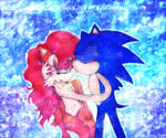 Princess Sally Acorn and Sonic the Magical love of by Darkramiess