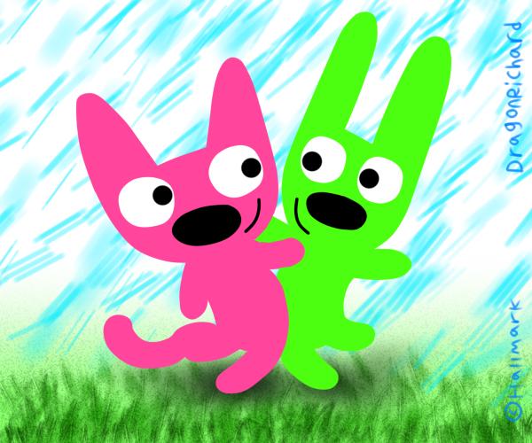 Hoops And Yoyo By DragonRichard