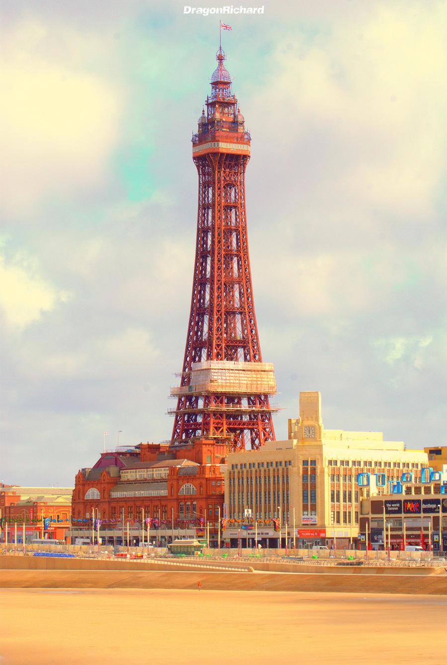 Blackpool Tower by DragonRichard on DeviantArt