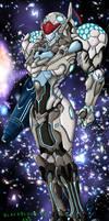 Samus Aran's Power Suit by BlackBlood-666