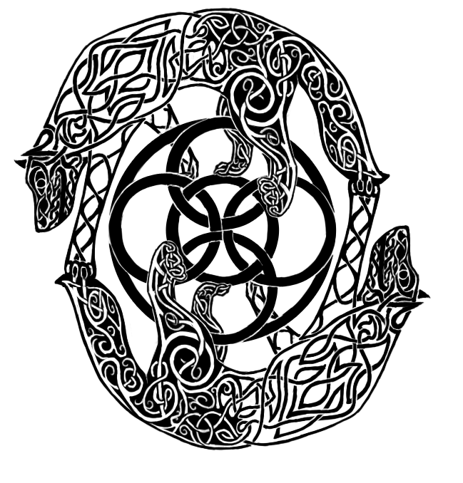 Wolf celtic tattoo by Crazy-Book-Worm on DeviantArt