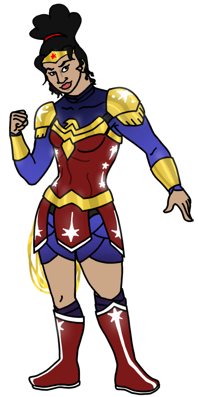 Wonder Woman 2015 Costume Redesign by HarrisonGrey on ...