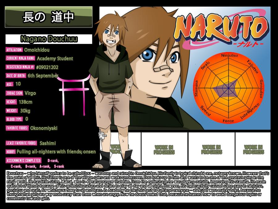 Character Profile Douchuu By NeskaMD