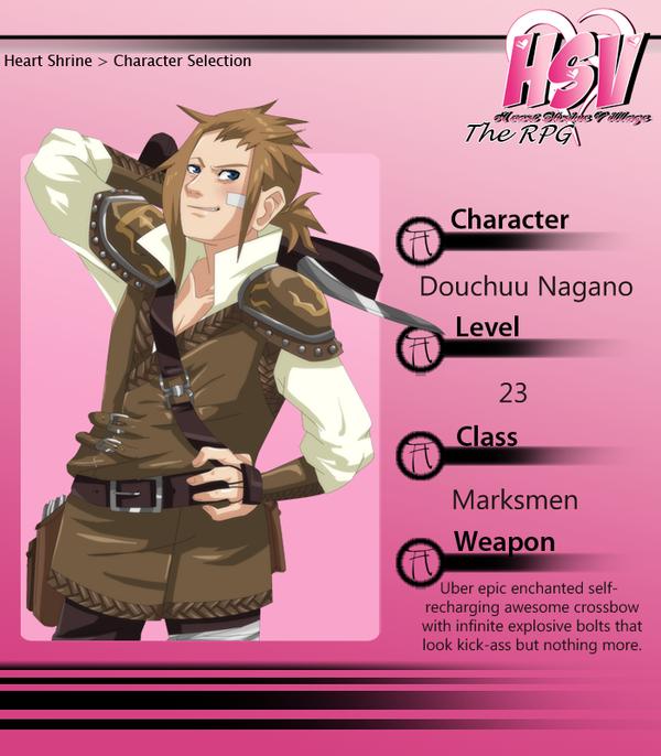 ::RPG:: Marksmen Dou by NeskaMD