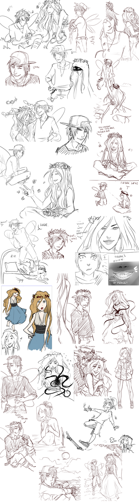 HIEMS DOODLENOODLE OH GOD SO MANY NEVER AGAIN by NeskaMD