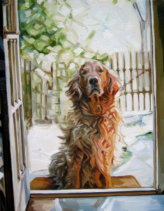 Summer Dog by HeatherHorton