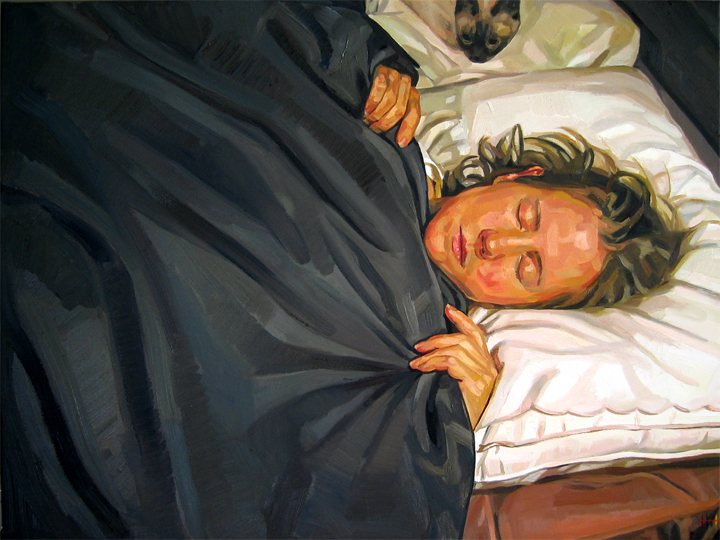 Self_Portrait_Fitful by HeatherHorton