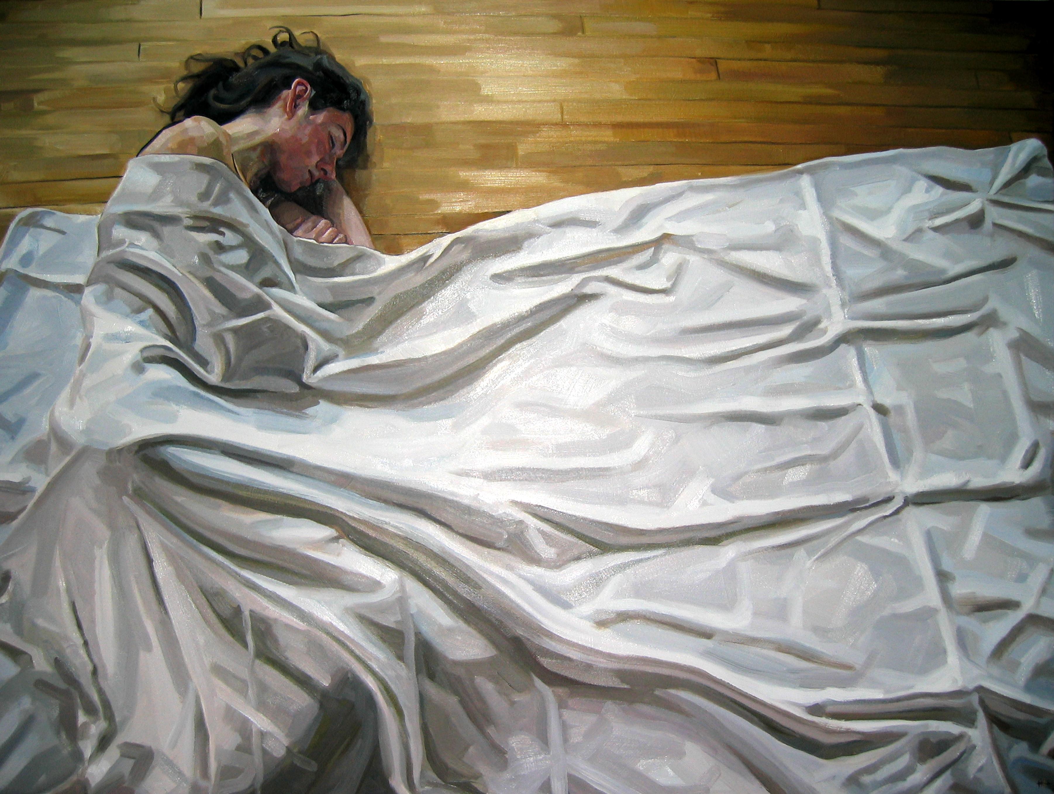 Draped Portrait II by HeatherHorton