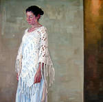 Figure With Shawl