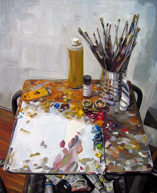 Palette, 2006 by HeatherHorton