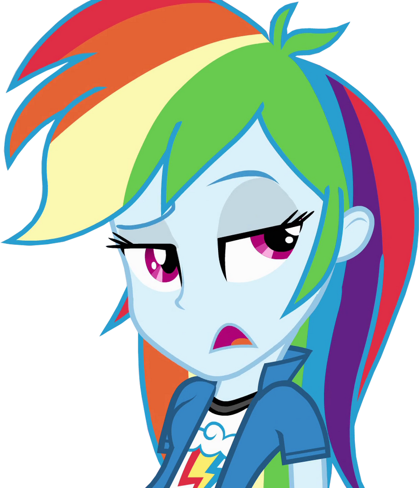My Little Pony Equestria Girls Collection Rainbow Dash Doll - Walmart.com