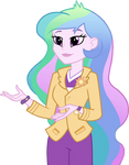 Principal Celestia Equestria Girls Vector