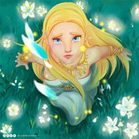 The silent Princess by CynthiaSotoArt