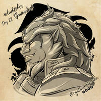 #Linktober Day 22: Ganondorf by CynthiaSotoArt