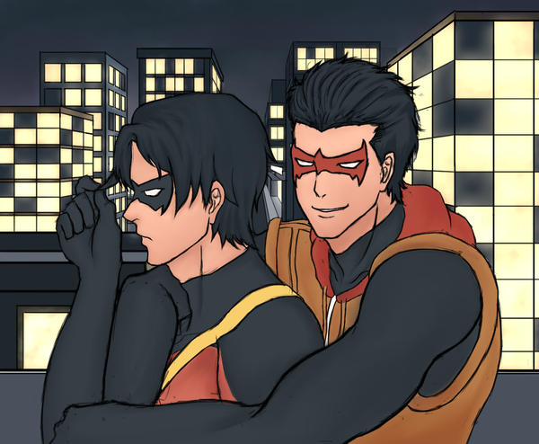 Jason Todd and Tim Drake 2 by keiart
