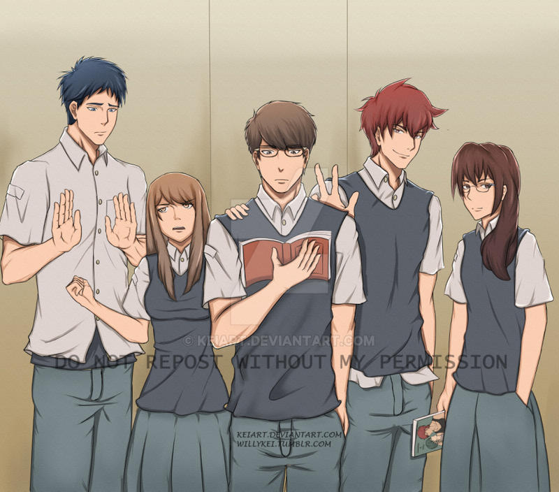 11th grade quintet by keiart