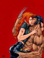 Jean e Logan. by Troianocomics