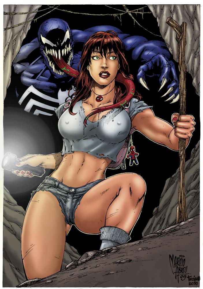 Mary Jane and Venom 2. by Troianocomics