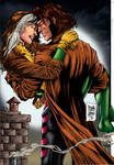 Rogue and Gambit.