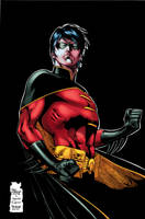 Red Robin_Color by Troianocomics
