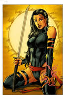 Psylocke_Sunshine. by Troianocomics