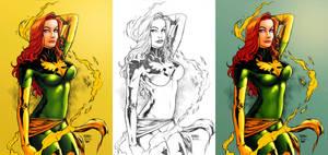 Phoenix_Colors. by Troianocomics