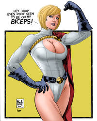 Powergirl_Paulo Siqueira. by Troianocomics